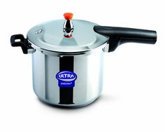 Elgi Ultra EU-8L Stainless Steel Pressure Cooker, 8-Liter >>> Additional details at the pin image, click it  : Pressure Cookers