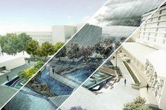 5 Water square Benthemplein Rotterdam – Progetto di De Urbanisten
