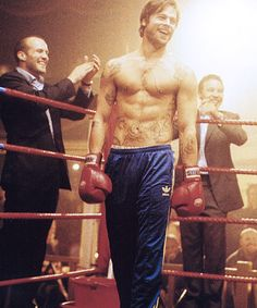 Pitt in Snatch. Brilliant, funny, great acting