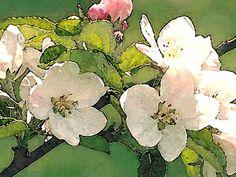'Apfelblüten' von Dirk h. Wendt bei artflakes.com als Poster oder Kunstdruck $18.03