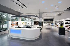 A bright and clear Pharmacy.