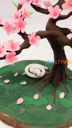 Cute Polymer Clay, Polymer Clay Flowers, Polymer Clay Crafts, Diy Clay, Clay Wall Art, Clay Art, Fondant Flower Tutorial, Paper Crafts, Diy Crafts