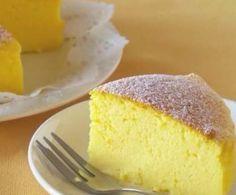 Rezept 3-Zutaten Soufflé Cheesecake (über den die Welt redet) von lobibi - Rezept der Kategorie Backen süß