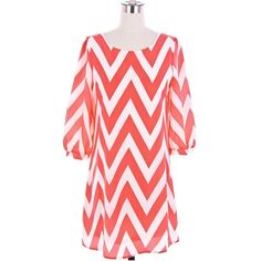 Long Sleeve Chevron Dress Cute Zig Zag Pattern Dress Black Chevron... ($40) ❤ liked on Polyvore featuring dresses, white embellished dress, white day dress, white long sleeve dress, white gauze dress and long sleeve chevron dress