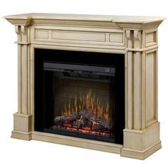 Dimplex home page fireplaces media consoles for Montebello fireplace