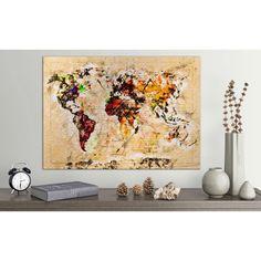 Tablou harta lumii O noua aventura Ambient 1