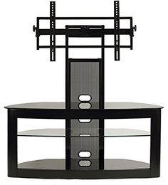 TransDeco LCD TV Stand with Universal Mounting System for 35 to 65-Inch Flat Panel TV