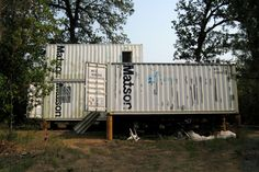 Shipping Container Homes: Kathy Tafel, KTainer, - California - 4 Shipping Container Home http://homeinabox.blogspot.com.au/2013/01/kathy-tafel-ktainer-california-4.html