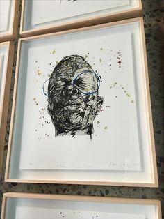 modern art framing. LL Editions - Nelson Makamo Lithograph By NB Art And Framing, South African Art, Modern Framing