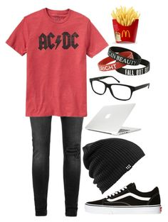 """""""Untitled #949"""" by xxghostlygracexx ❤ liked on Polyvore featuring Topman, Gap, Vans, Burton, Moshi and Kenneth Cole"""