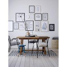 Bloomingville | Print 'There is no place ...', zwart, 30 x 40 cm | SCANDINAVISCH | KOPENHAGEN | Interior Delights