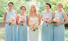 Decoração de Casamento : Paleta de Cores Azul e Branco | Blog de Casamento DIY da Maria Fernanda