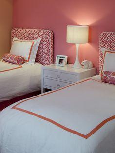 Contemporary Bedroom Girl Bedroom