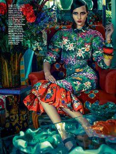 Waleska Gorczevski by Zee Nunes for Vogue Brazil November 2013 3
