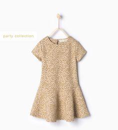 Shiny jacquard dress-Dresses-Girl | 4-14 years-KIDS-SALE | ZARA United States