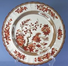 spode indian tree I have an entire service for eight of this. So pretty. & Spode
