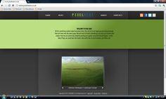 PixelBeat Website Concept by MrNinjutsu Mobile Responsive Site