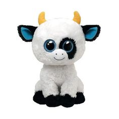 TY Beanie Boos DAISY the Cow (Medium Size 9 inch) ❤ liked on Polyvore featuring stuffed animals, cute stuff and plushies