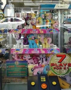 Equestria Daily: Aurora Ponies Get a Claw Machine Display