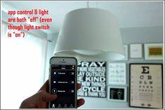 Come impostare Philips Hue Starter Kit - Decorazione Te Philips Hue, App Control, Starter Kit, Front Porch Lights, Light Switches, Diner Menu