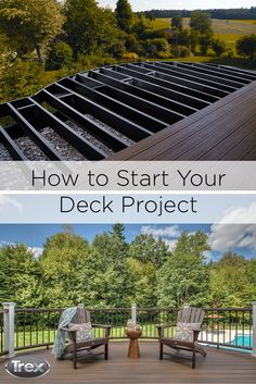 Building a deck has never been easier. Kick things off with our deck building and planning tools, and then check out our tips and checklists for hiring a deck builder or preparing for a DIY deck overhaul. #outdoorliving #deck #patio #porch #remodel #backyard #doityourself