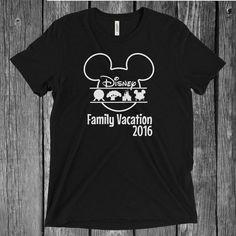 SVG & PNG Digital File Download Disney World 4 Theme Parks Family Shirt Animal Kingdom, Magic Kingdom, Epcot Hollywood Studios Iron-On