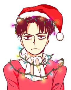 "nimnime: ""~*CHRISTMAS HEICHOU FOR YOUR DASH!*~ (it's transparent!) (and there's more characters to come!) (and you can use it on your blog if you want~) """