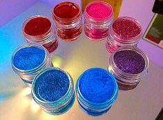 SYN Cosmetics Pigments <3 #makeup #pigments #eyemakeup #brightmakeup #glitter