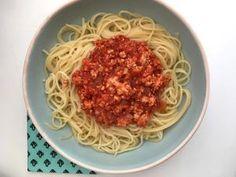 Spaghetti Bolognaise au Tofu (Vegan) • Hellocoton.fr