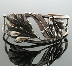 Sterling Silver Victorian Lily Bracelet by SITFineJewelry on ETSY - gorgeous!