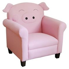 Piggy chair! I want one!