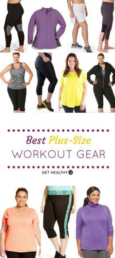 These 13 brands have awesome plus-size workout clothing that works with your body.