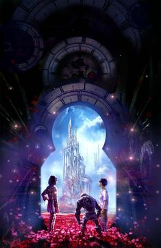 """(Fantasy worlds Stephan Martiniere) (Made up by me) (Fantasy worlds Stephan Martiniere) The trio stare in awe at the castle. The hunched, ugly """"thing"""" broke the silence,""""Okay, it's pretty, yeah, yeah, now you two come on."""" He started to walk forward. My brother followed excitedly,""""Where we going now?"""" He asked, I rolled my eyes at the obvious question. The """"thing"""" stopped, """"Well, the castle, of course, you can't just look at it without going inside, can you?"""""""