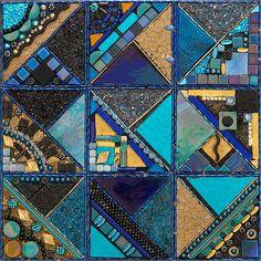 glimmer glass mosaics