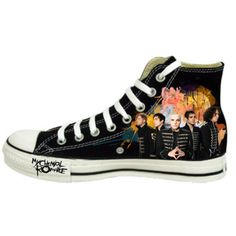 I am thinking of painting some Converse with an MCR theme soon. Looking for inspiration