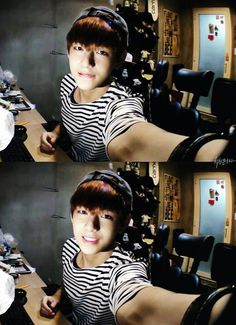 V | who says he can't be the visual like god damn this is adorable and sexy (oops)