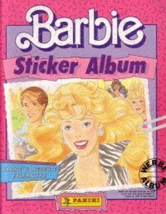 Barbie Panini-Stickeralbum <3 Genau DAS HIER hatte ich (1990)
