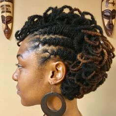 Image may contain: 2 people Be Natural, Natural Styles, Natural Hair Care, Natural Beauty, Dreadlock Hairstyles, African Hairstyles, Cool Hairstyles, Hairstyle Ideas, Dreadlock Styles