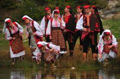 Nijemo Kolo, silent circle dance of the Dalmatian hinterland,Croatia