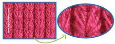 Galería de puntos 22 - Tejiendo Perú Different Stitches, Knitting Stitches, Tatting, Knit Crochet, Fiber, Projects, Crafts, Home Decor, Hobbies