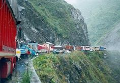 The road to get to my little 900 people town in Llama, Cajamarca, Peru when i lived there back in 2010-2011 :)