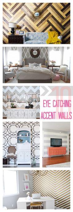 10 Accent Walls