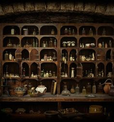 mycelticheart: Claire's Apothecary Cabinet