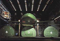 Thunderbird 2 prepares to load a cargo pod.