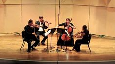 Tchaikovsky String Quartet Op. 11 - II. Andante cantabile (Kontras Quartet)