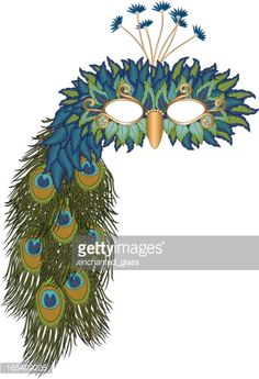 View top-quality illustrations of Peacock Mardi Gras Masquerade Party Mask. Find premium, high-resolution illustrative art at Getty Images. Blue Costumes, Masquerade Party, Mask Party, Free Illustrations, Mardi Gras, Vector Art, Peacock, Colours, Halloween