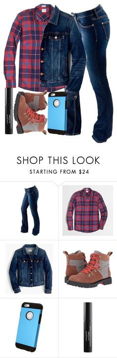 """""""Heartland  \\ Georgie Fleming-Morris"""" by sewing-girl ❤ liked on Polyvore featuring Bullet, J.Crew, TOMS and Laura Geller"""