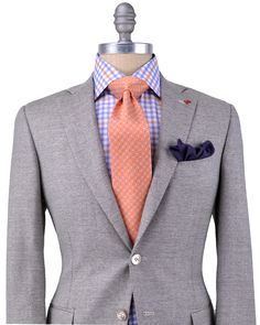 Isaia | Tan Textured Sportcoat | Apparel | Men's