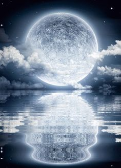Beauty Is Worth A Gif – Schultze Stephan - Space Night Sky Wallpaper, Anime Scenery Wallpaper, Landscape Wallpaper, Wallpaper Backgrounds, Beautiful Nature Wallpaper, Beautiful Moon, Moon Pictures, Nature Pictures, Space Artwork