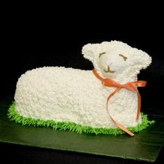 Our Lamb Cake Tradition - with Recipe